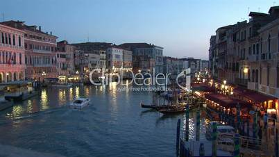 Evening over the Grand Canal