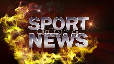 SPORT NEWS (2 Variations) Red - HD1080