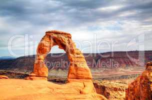 Delicate Arch at Arches National Park, Utah, USA