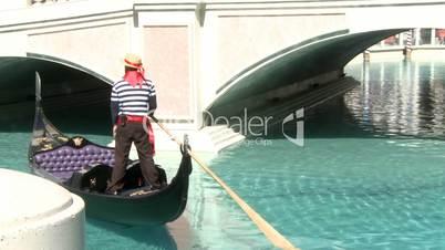 Gondolier in Las Vegas