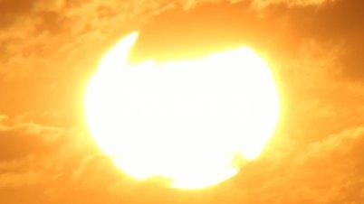 sun background time lapse