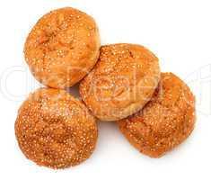 Heap Appetizing Buns with Sesame