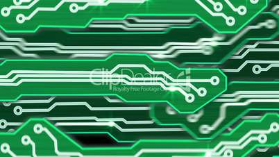 green electronic circuit plates alpha