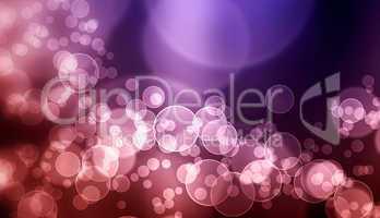 Abstrakter Luftblasen Hintergrund - Violett Schwarz