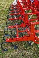 Agricultural equipment. Detail 9