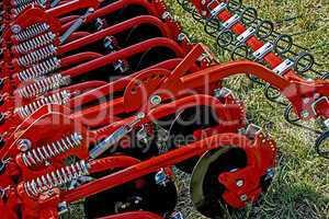 Agricultural equipment. Details 28