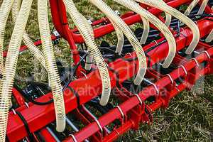 Agricultural equipment. Detail 2