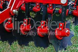 Agricultural equipment. Details 38