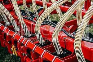 Agricultural equipment. Detail 14
