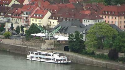 Schiff am Main in Würzburg