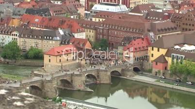 Brücke der Schutzheiligen in Würzburg