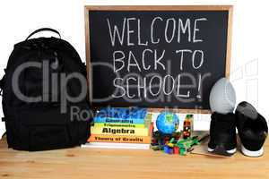 Welcome Back to School - School Supply