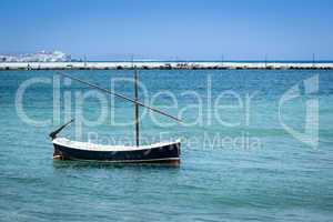 Boat at Mykonos Greece