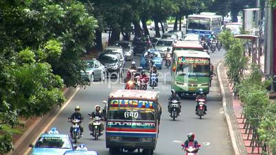 10704 indonesia jakarta city traffic close real time