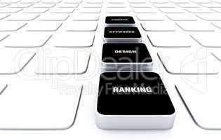 3D Pads Black - Keywords Design Content Ranking 3