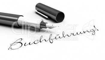 Buchführung! - Stift Konzept