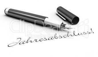 Jahresabschluss! - Stift Konzept