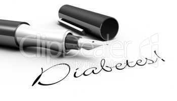 Diabetes! - Stift Konzept