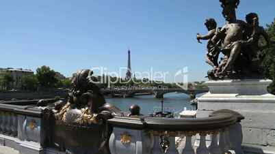 Brücke in Paris