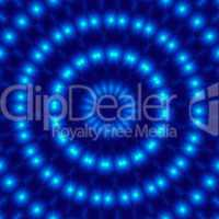 Lichtkreis - Mandala Blau