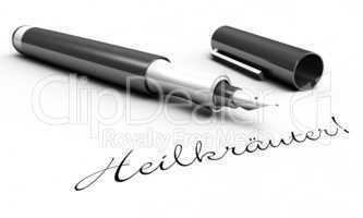 Heilkräuter! - Stift Konzept