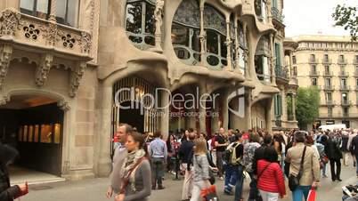 Casa Milà von Gaudi (la Pedrera)