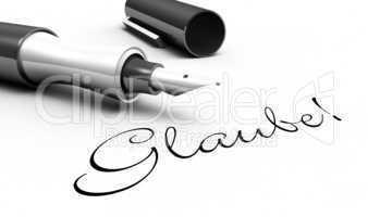 Glaube! - Stift Konzept