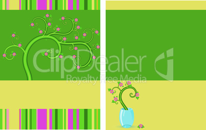 Floral-flayer-two-sides