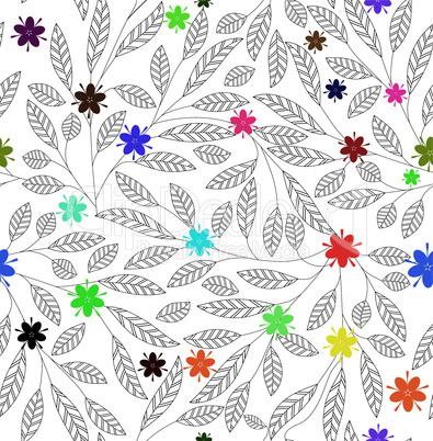 Flower leaf vintage texture.