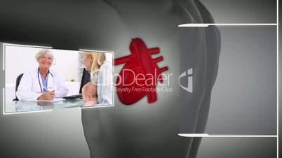 Videos of a healthcare centre