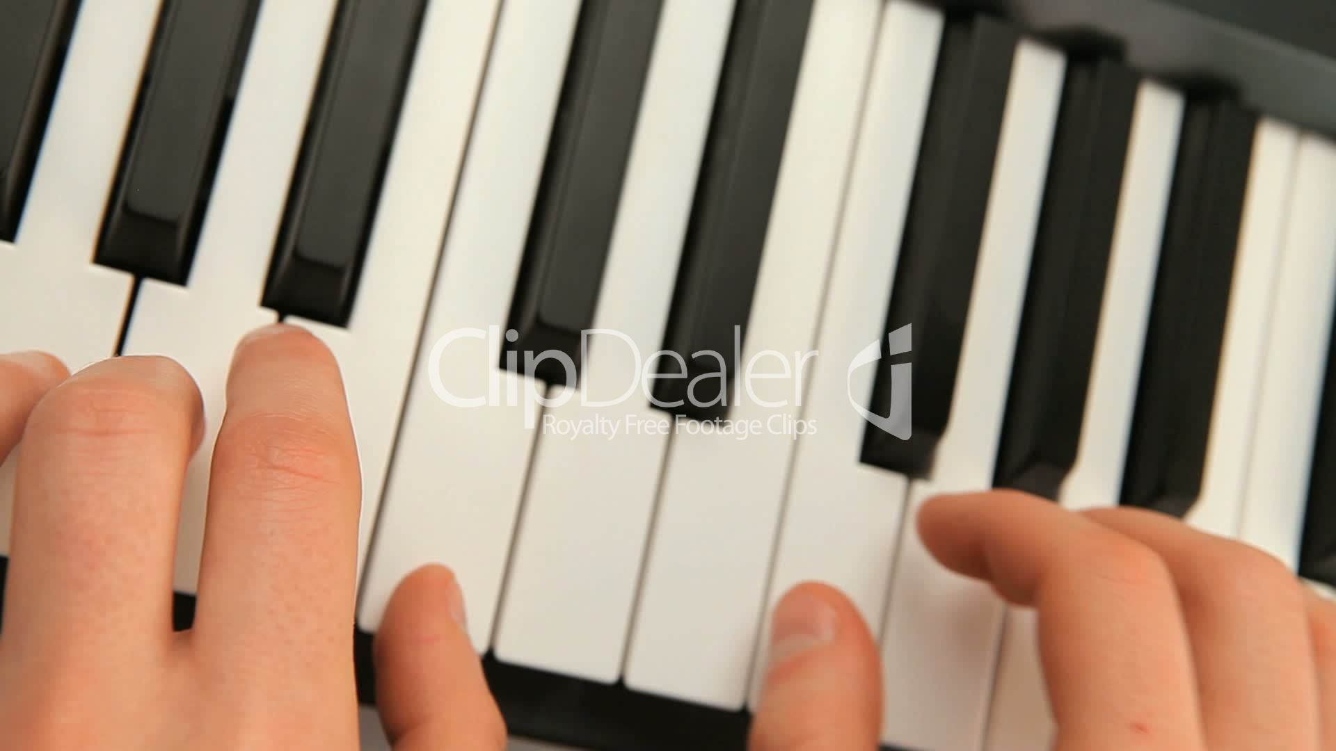 Fingers Touching Piano Keys Royalty Free Video And Stock Footage