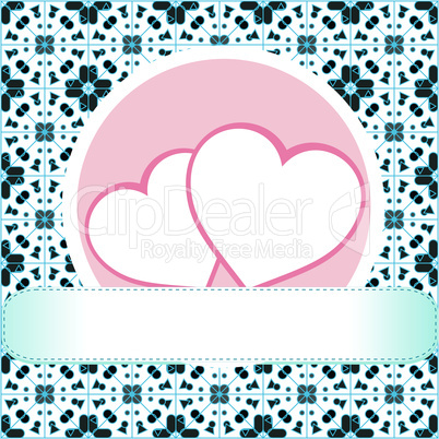 love concept, heart, grungy style, vector, love theme