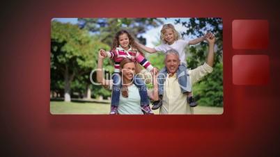Videos of family having fun