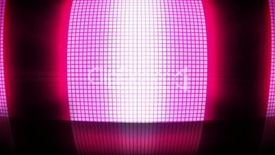 Pink disco lights
