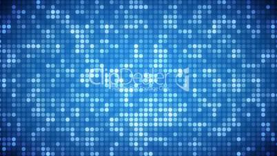 Video of light blue dots