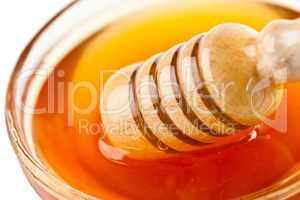 Honey dipper outgoing a bowl