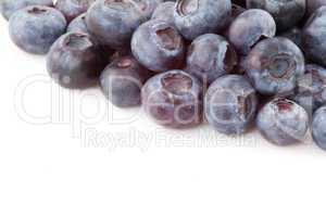 Abundance of blueberries