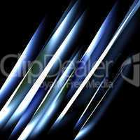 Abstract blue straight lines