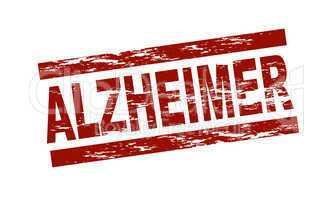 Stempel - Alzheimer
