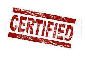 Certified / vektor