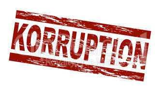 Korruption / vektor