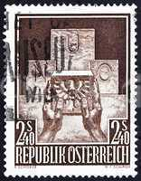 Postage stamp Austria 1956 Austria's Admission to the UN
