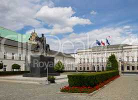 Presidential Palast in Warsaw