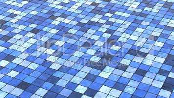 Hintergrund Bodenfliesen Blau Bunt