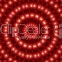 Lichtkreis - Mandala Rot