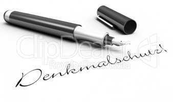 Denkmalschutz! - Stift Konzept