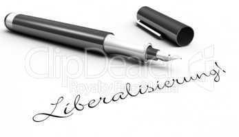 Liberalisierung! - Stift Konzept