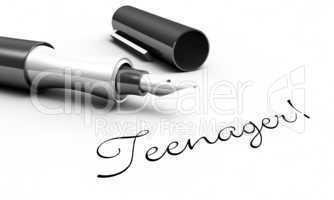 Teenager! - Stift Konzept