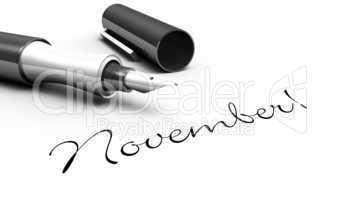 November! - Stift Konzept
