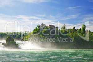 Rhine Falls. Northern Svitserland. Europe